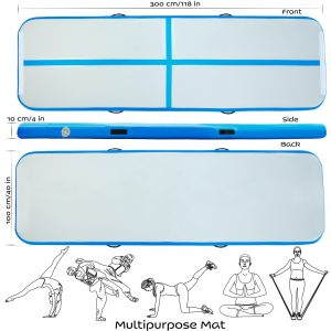 Air Track Tumbling Gymnastics Mat Specifications