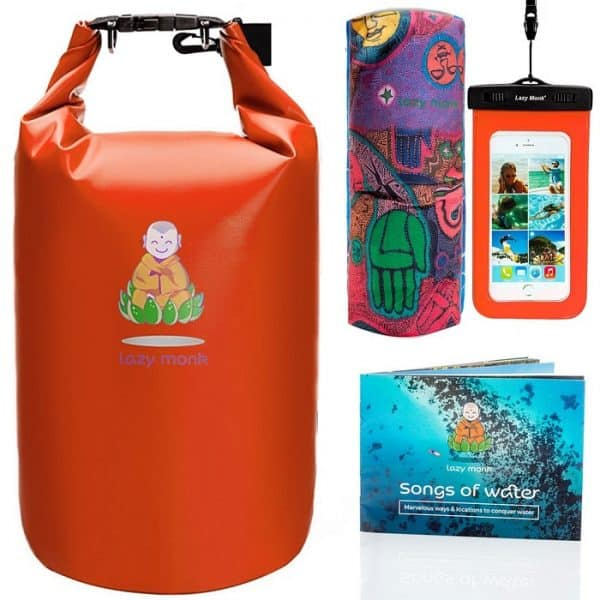 Dry Bag Waterproof Bags Large Food Backpack Sack Orange
