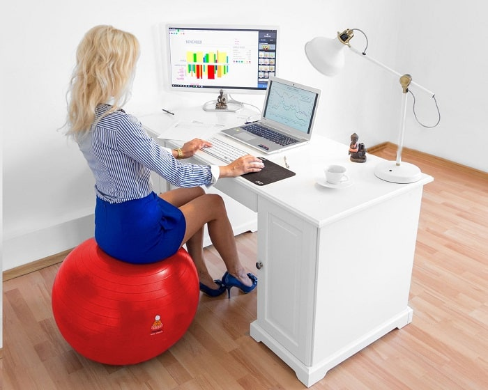 Exercise Ball Sample Office Use