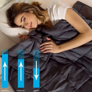 Lazy Monk Organic Weighted Blanket Benefits