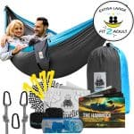 4 in 1 Double Camping Hammock With Straps Image