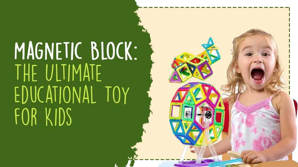magnetic block for kids