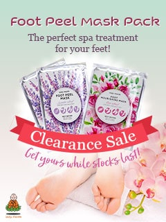 Foot Peel Mask Clearance Sale