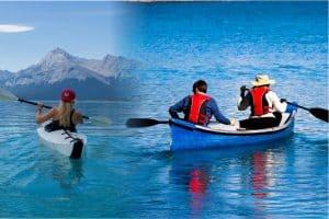Kayak Vs Canoe difference