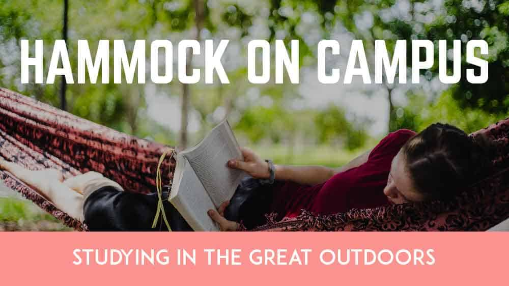 Hammock on Campus: Studying in the Great Outdoors